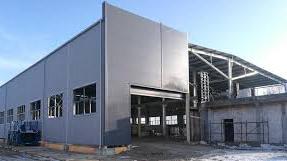 budowa nowej hali z częścią biurowo socjalną